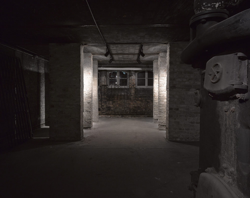 View of the former boiler room. Photo: Harry Weber